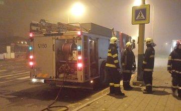 Požiar auta na sídlisku Solinky 12.10.2014