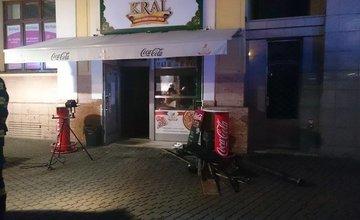 Požiar predajne kebab na Hlinkovom námestí