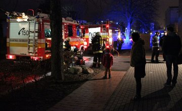 Požiar výškovej budovy na Rázusovej ulici v Žiline