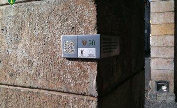 QR kódy Žilina pamiatky