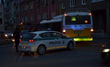 Poškodené vedenie 2.septembra 2014 odstavilo trolejovú dopravu