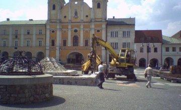 Fontána na Mariánskom námestí