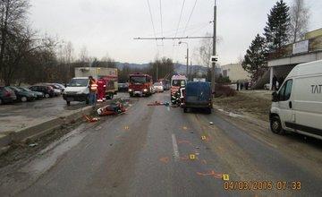 Tragická nehoda motorkára na Vlčincoch