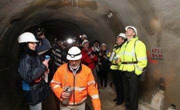 Tunel Višňové - Dubná skala v súčasnosti - 30.11.2013