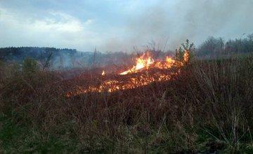 V Trnovom opäť horelo, tentokrát zasahovali dobrovoľní hasiči