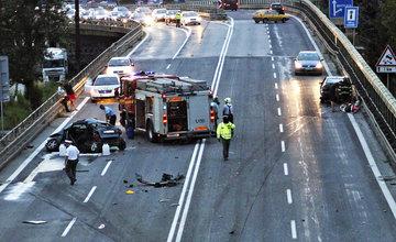 Vážna dopravná nehoda na ulici Mostná - 13.júla 2014