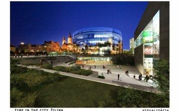 Vizualizácia nového námestia A.Hlinku z roku 2008