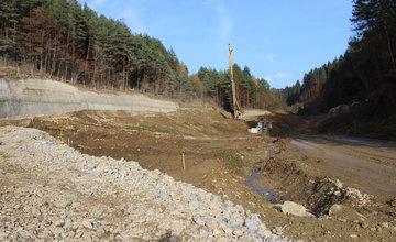 Výstavba diaľnice D3 pri Žiline - Strážov - Brodno
