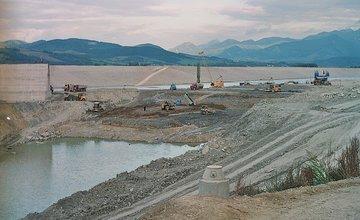 Vodné dielo Žilina - výstavba