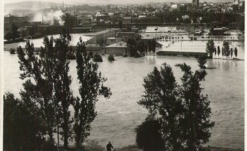 Záplavy v Budatíne 1958