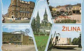 Žilina zachytená na starých pohľadniciach