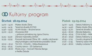 Žilinská plavecká štafeta a Žilinské dni zdravia 2014