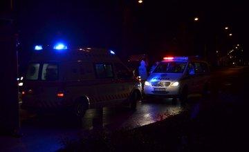 Zrážka dvoch vozidiel na Košickej ulici