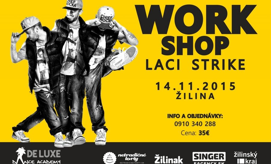 Foto: Work Shop s Laci Strike-om už 14.11.2015