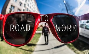 VIDEO: Road to work