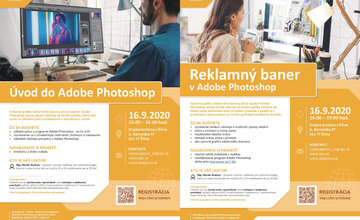 Úvod do Adobe Photoshop + Reklamný baner v Adobe Photoshop