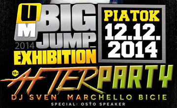 BIG JUMP EXHIBITION 2014 Afterparty