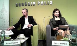 Diskusia Erika Jurinová a Peter Fiabáne: Správy zo samosprávy