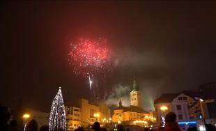 Novoročný ohňostroj Žilina 2018