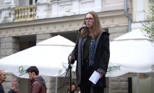 VIDEO: Aj v Žiline sa dnes zišli mladí ľudia na zhromaždení Fridays for Future
