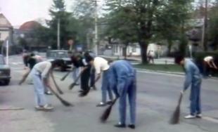 VIDEO: Historická reportáž o poslednom jarnom upratovaní za komunistov v Žiline