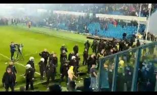 VIDEO: Koniec finále Slovenského pohára poznačili konflikty fanúšikov s políciou a SBS