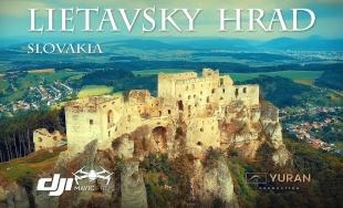 VIDEO: Lietavský hrad zachytený z dronu, pozrite si jeho krásy v krátkom filme