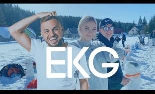 VIDEO: Mladí ľudia chcú na Oravu dostať dídžeja EKG, vo videu mu postavili 200 snehuliakov