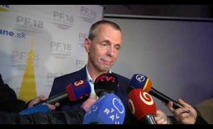 VIDEO: Peter Fiabáne oznámil neoficiálne víťazstvo po spočítaní približne polovice okrskov
