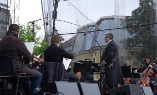 VIDEO: Štátny komorný orchester Žilina na Staromestských slávnostiach 2019 - Hlinkovo námestie