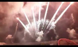 VIDEO: Veľkolepý záverečný ohňostroj KIA Open Day 2018