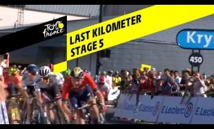 VIDEO: Záverečný finiš a víťazstvo Petra Sagana v 5. etape Tour de France 2019