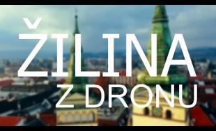 Pohľad z výšky na centrum Žiliny - unikátne video natočené dronom