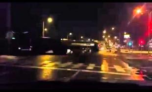 Prevoz vojenskej techniky na Košickej ulici