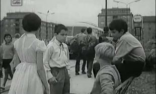 """Žilina vo filme """"Senzi mama"""" (1964)"""