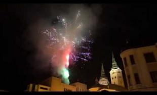 VIDEO: Novoročný ohňostroj 2020 v Žiline si prišli pozrieť tisícky ľudí