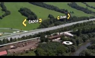 VIDEO: Vizualizácia diaľničného úseku D3 Kysucké Nové Mesto - Oščadnica