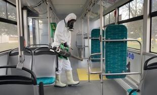 VIDEO: Komplexná dezinfekcia interiéru vozidiel Dopravného podniku mesta Žiliny